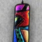 Fused Glass Picasso Technique.