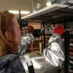 Me pulling vitrograph
