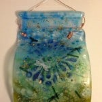 Fused Glass Lawn Art