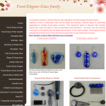 Fused Elegance Glass Jewelry Site