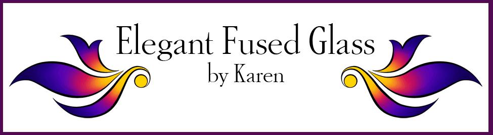 Elegant Fused Glass by Karen