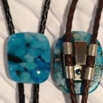 Fused Glass Bolo Ties