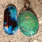 Fused Glass October Birthstones – Tourmaline