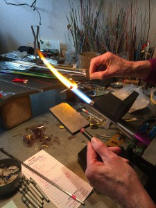 Making a flamework bead