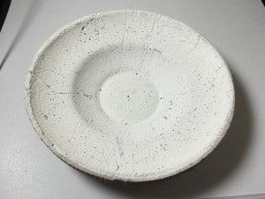A handmade bowl mold created by Paul