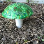 Fused Glass – Garden Mushrooms