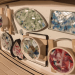 Fused glass – Confetti Art