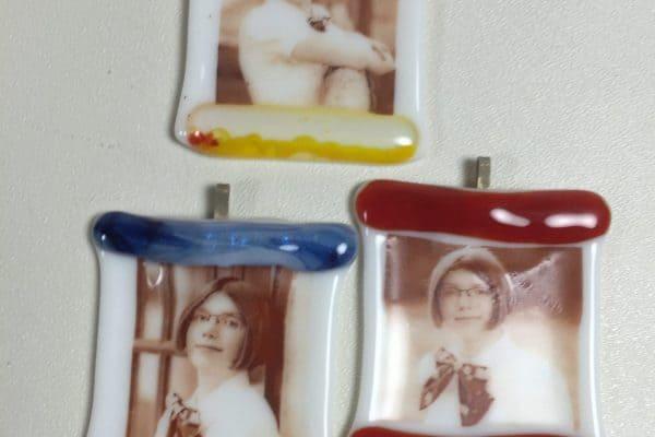 Custom Fused Glass Ornaments