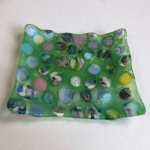 Fused Glass Pebble Dishes