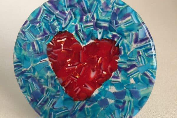 Fused glass e-book – Waste not