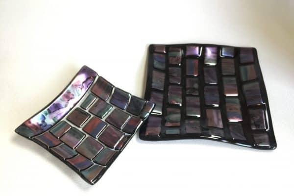 Fused Glass Glo Plate – Tanya / AAE Glass