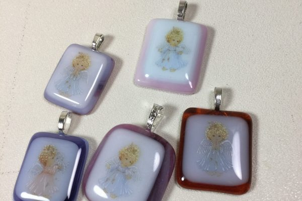 Busy fused glass month