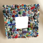 More Fused Glass Mirrors