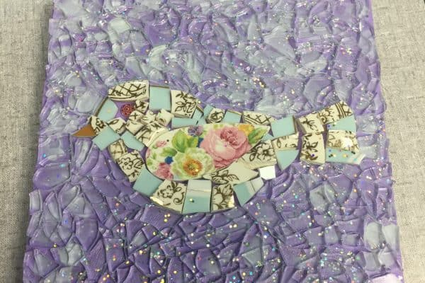 Mosaic with a friend
