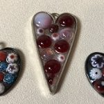 Fused Glass for Valentines day