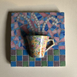 3d Mosaic Glass