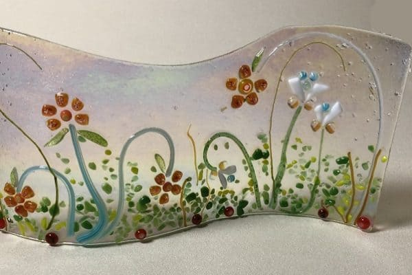 Fused Glass with my friend