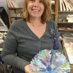 Fused Glass Flowers with Laurie