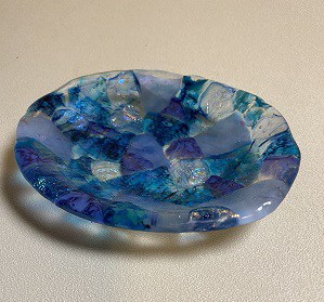 Fused glass dishes with Molds