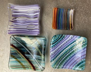 Fused Glass Stringer Art