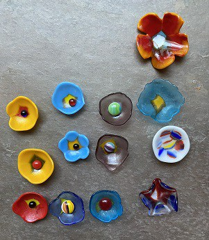 Pressed Fused Glass