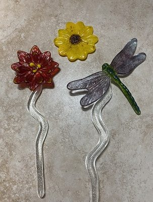 Fused Glass Castings