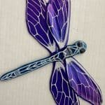 Fused Glass Dragonflies