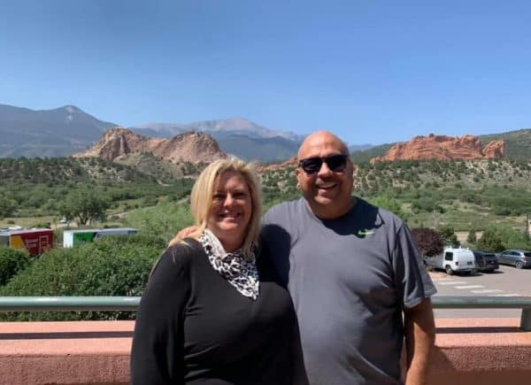 Garden of the Gods with my Cousin