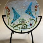 Fused Glass Fish Bowl