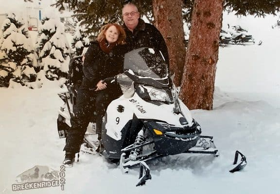 Snowmobiling in Colorado
