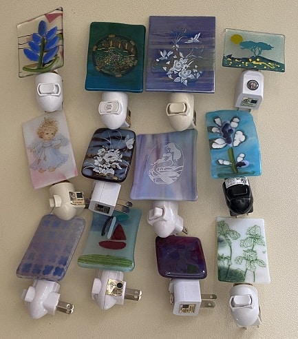 Fused Glass Donations