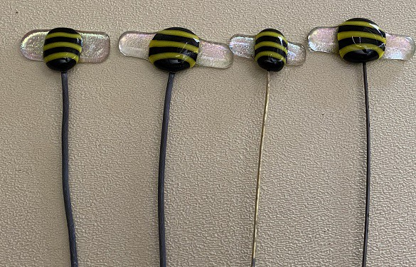 Fused Glass Bees
