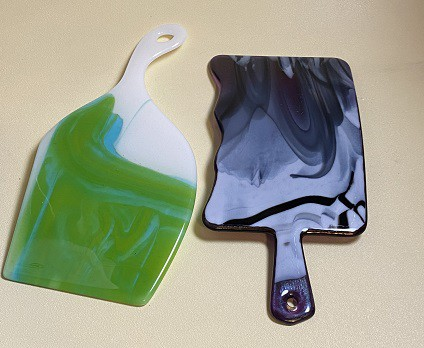 Fused Glass Charcuterie Boards