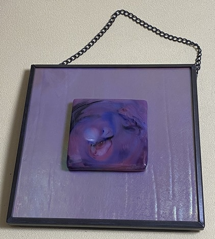 Fused Glass Pot-Melt Art
