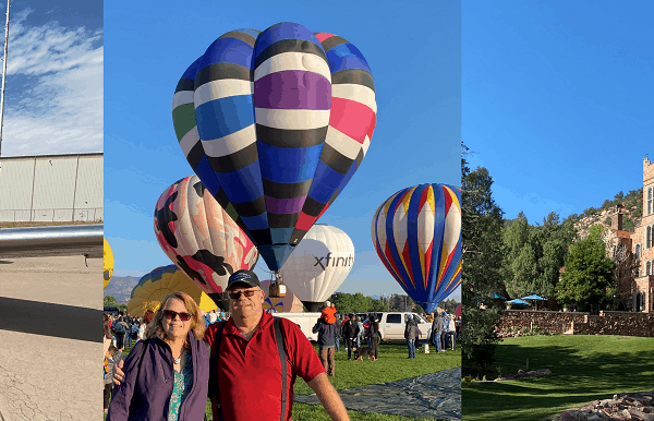 Airplanes, Balloons, and a Castle